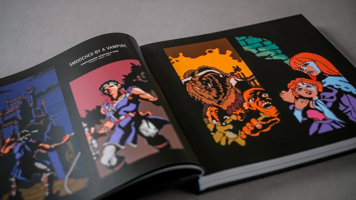 The SNES Pixel Book Captures The Magic Of Super Nintendo Graphics