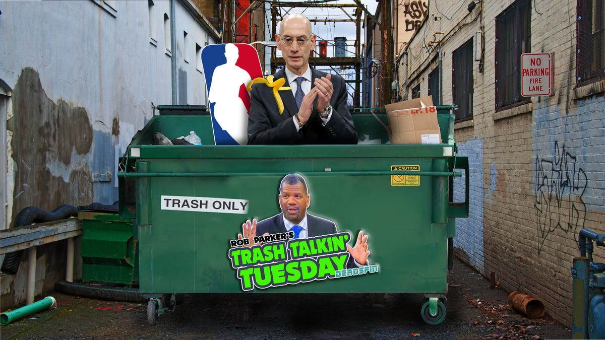 NBA's Adam Silver Should Be Trashed For Starting Season so Soon