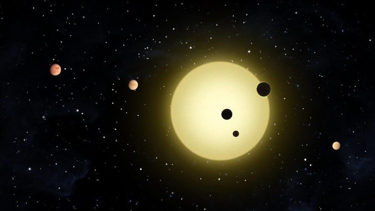 Detectan por primera vez exoplanetas fuera de la Vía Láctea
