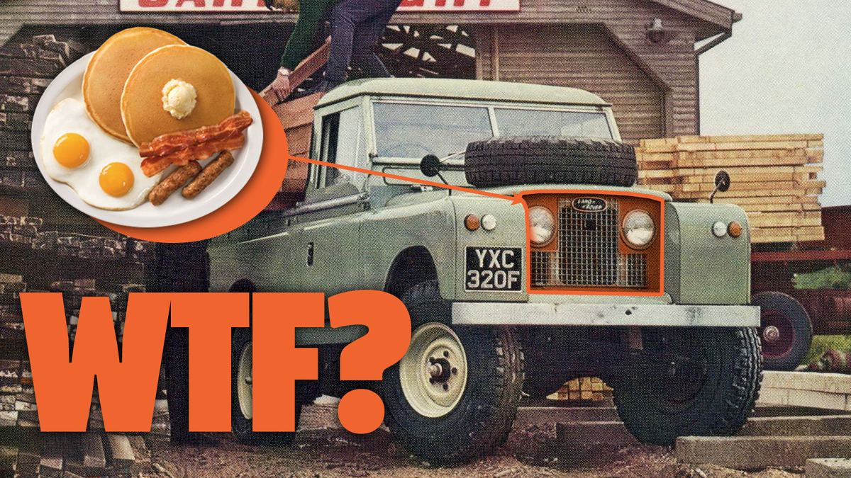 Old Land Rover Freaks Have One Of The Weirdest Names For A Car Part I've Ever Heard