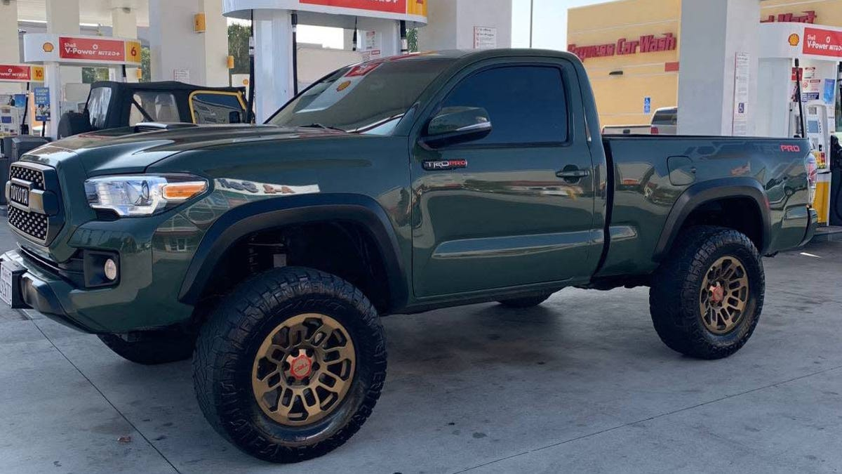 At $17,900, Is This Frankenstein 2009 Toyota Tacoma A Monster-Good Deal?