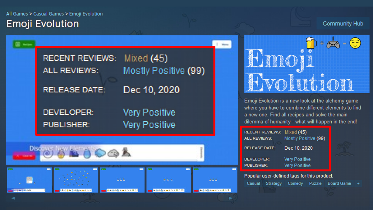 Something's Fishy About This Steam Game's 'Very Positive' Reviews - Kotaku