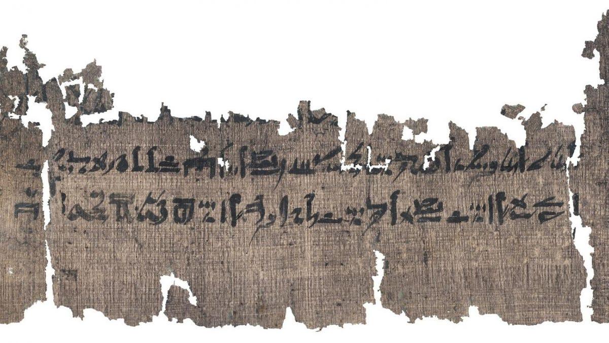 Un detallado manual sobre como momificar cadáveres al estilo egipcio
