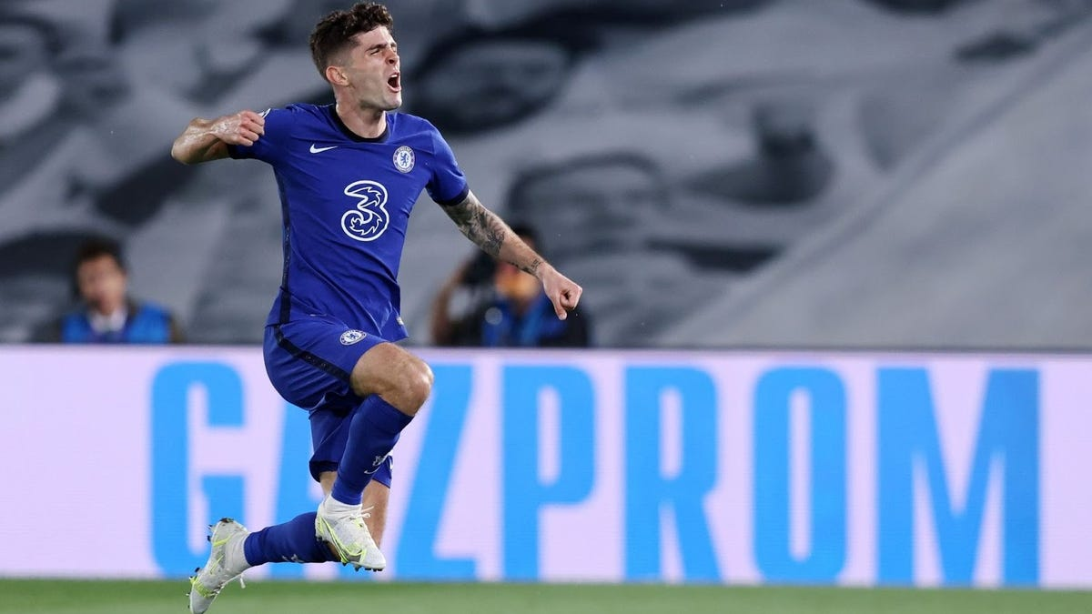 SEE IT!!! Christian Pulisic becomes first American to score in Champions League semifinal