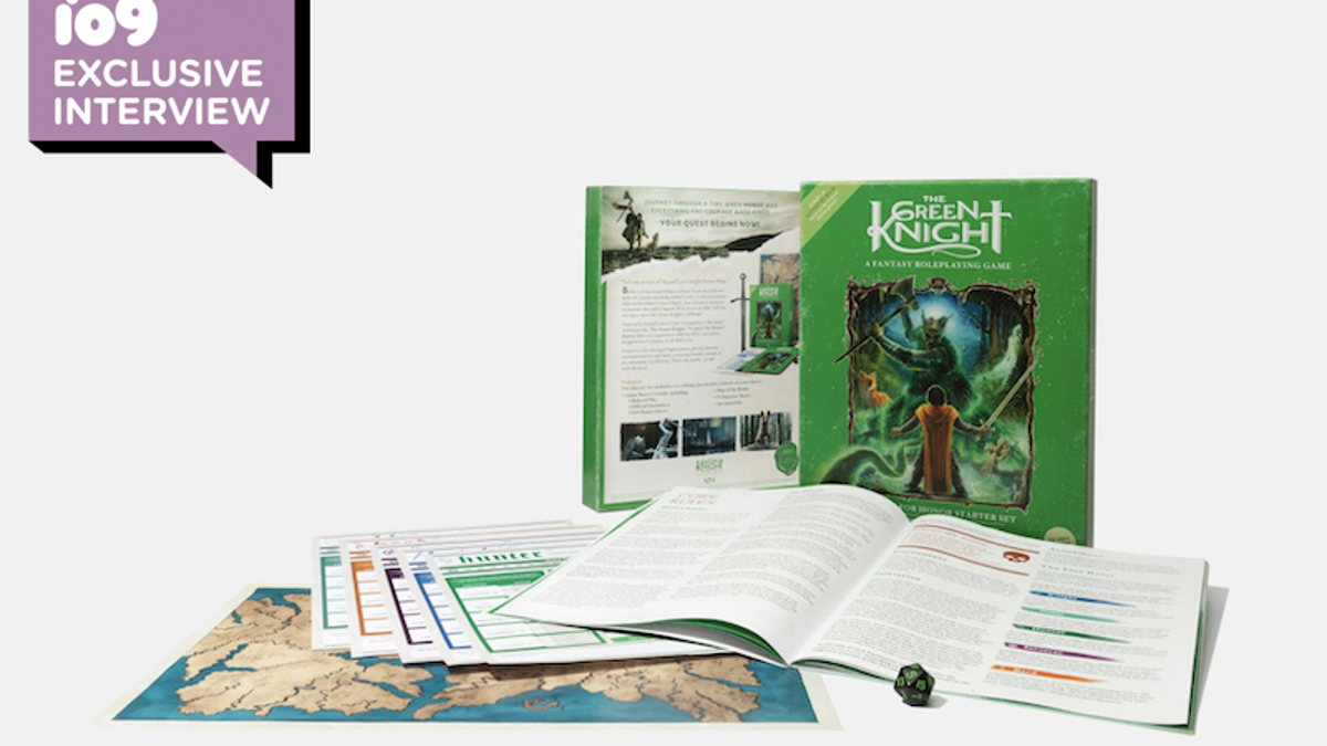 Dev Patel's Green Knight Is Now a D&D-esque Roleplaying Game - Gizmodo