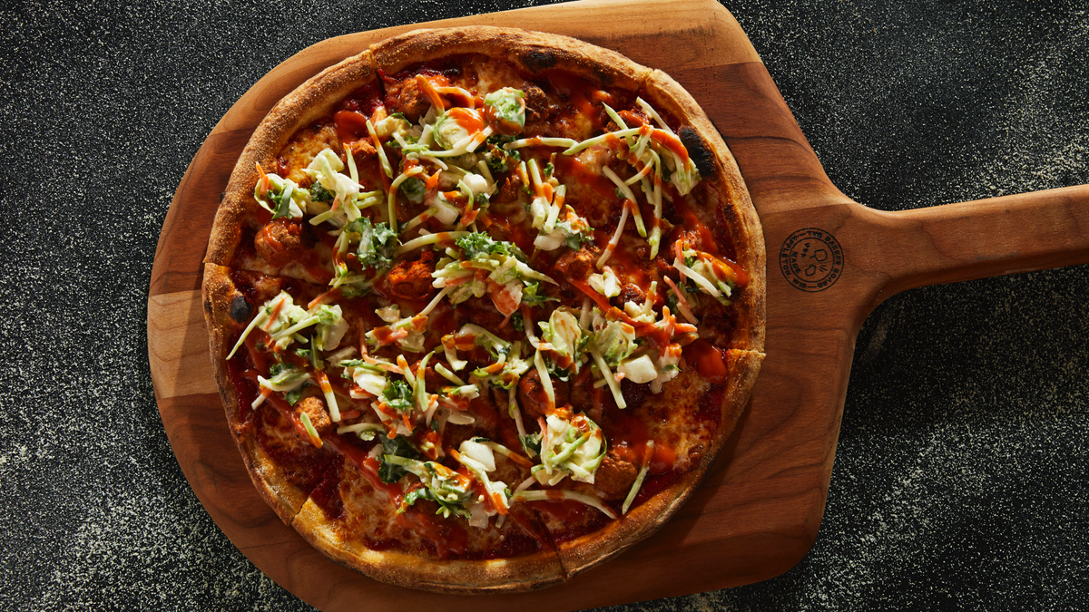 Blaze Pizza wants you to eat chicken so hot it makes your nose run
