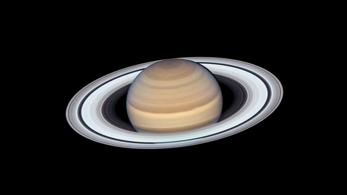 This Is an Especially Good Picture of Saturn