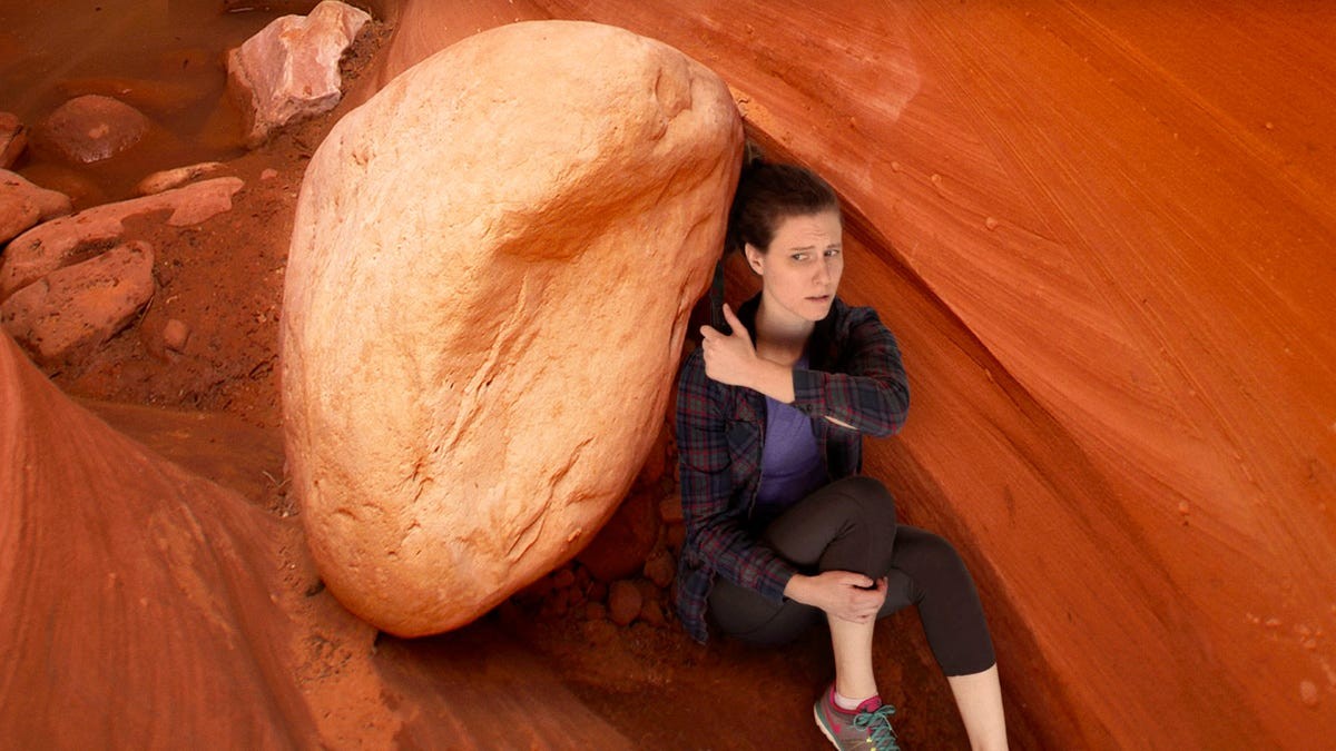 Hiker Trapped For Days Under Fallen Boulder Survives By Cutting Off Own Ponytail
