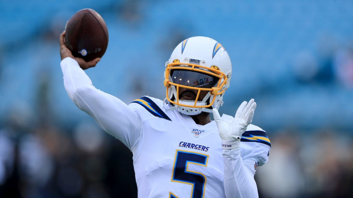 Tyrod Taylor is the latest victim of the Chargers