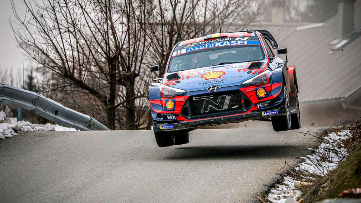 Thierry Neuville's Hyundai Beats The Toyotas At Monte Carlo