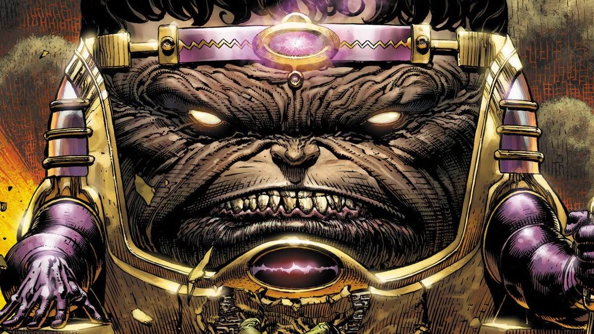 An Impressive Voice Cast Has Joined Patton Oswalt for Marvel's M.O.D.O.K.