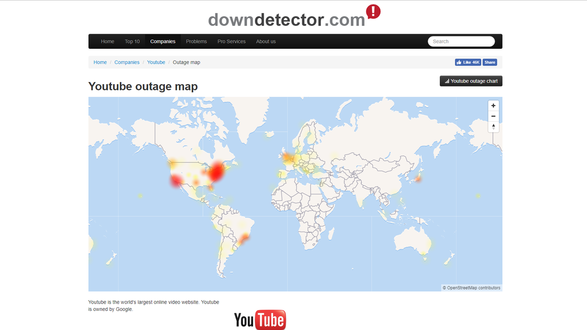 Major Google Outage Hits YouTube, G Suite, and Third Party ... on government map, aaa cooper transit time map, at&t u-verse availability map, education map, ipad map, technology map, nj new jersey map, coverage map, apple map, mobile map, louisiana natural resources map, android map, microsoft map, power map, office map, amazon map, data map, concord new hampshire map, construction map, projected snow accumulation map,