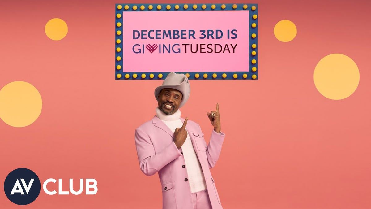 Billy Porter on #GivingTuesday and why it's time to