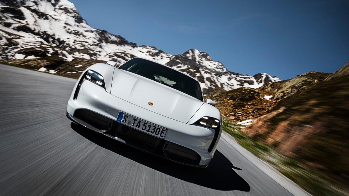 The Porsche Taycan's Engine Sound Costs $580