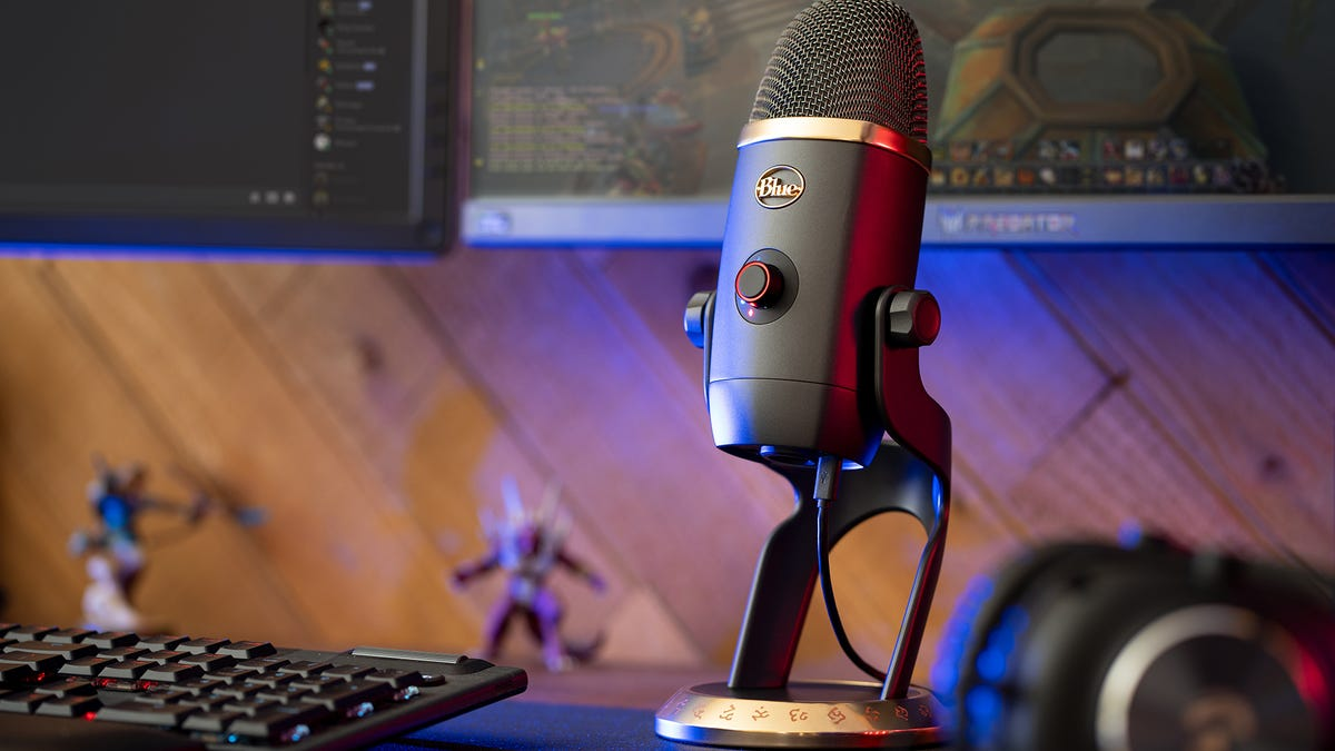 One Of The Best USB Streaming Mics, Now In World Of Warcraft Flavor