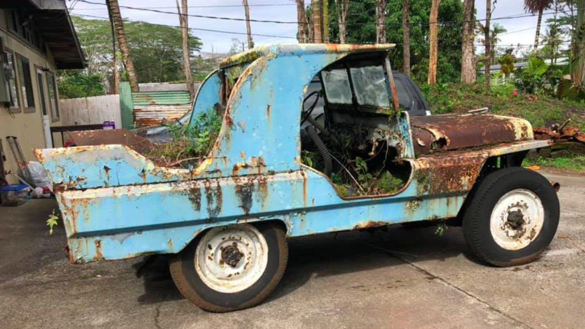 Someone Once Turned A World War II Jeep Into A Cadillac And It Was So Hideous It's Beautiful