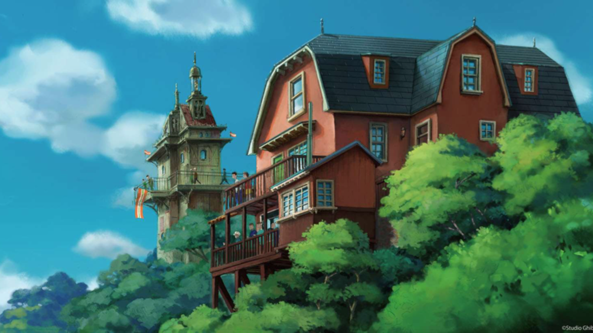First Look At The Studio Ghibli theme park