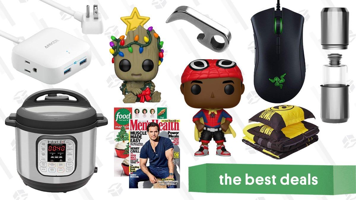 Saturday's Best Deals: Anker PowerPort Strip, Aged & Ore Drinkware, Razer DeathAdder, and More