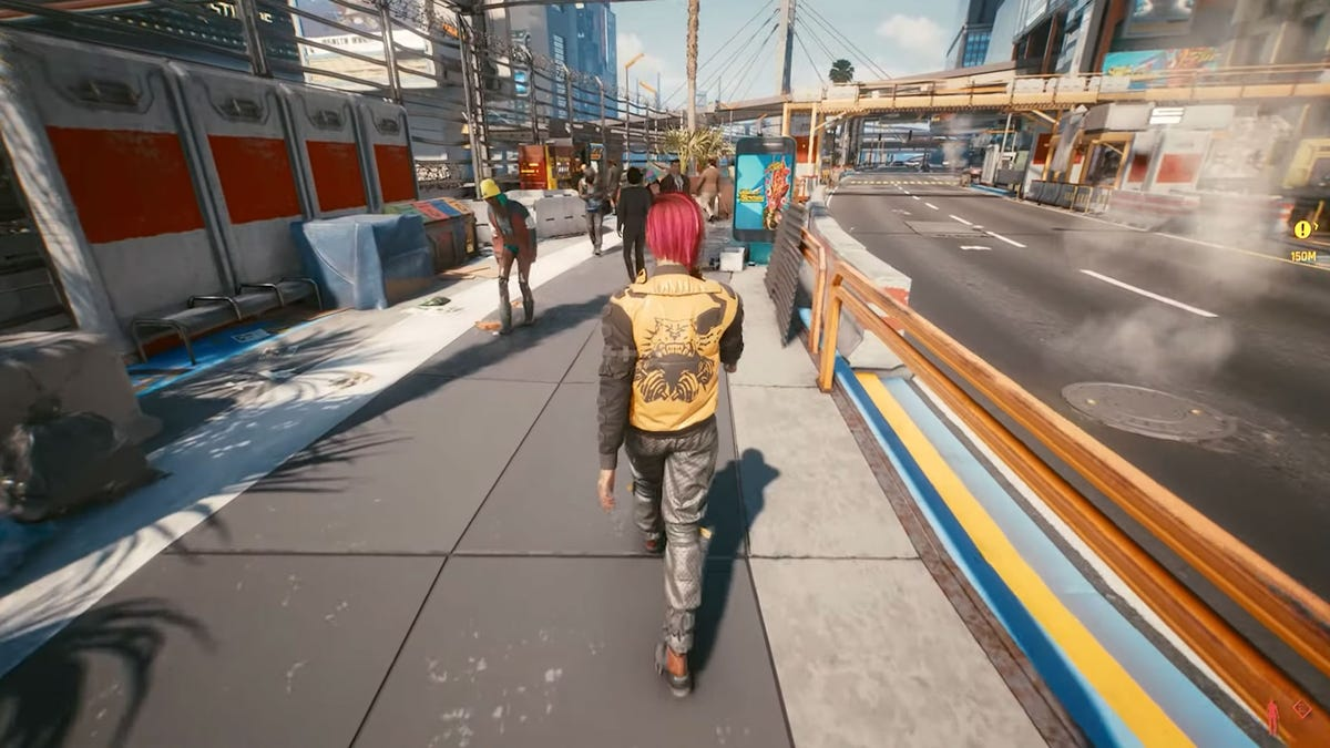 "Cyberpunk 2077 Gets ""Working"" Third-Person Mod"