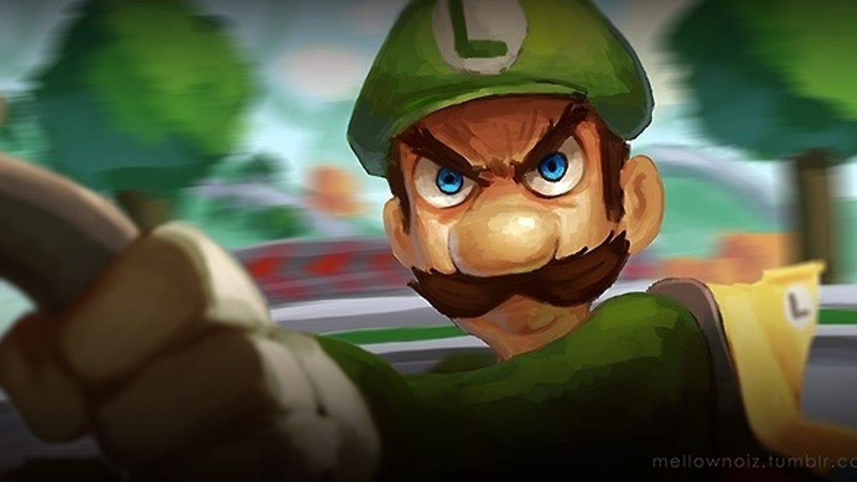 The Internet Reacts To Luigi S Death Stare