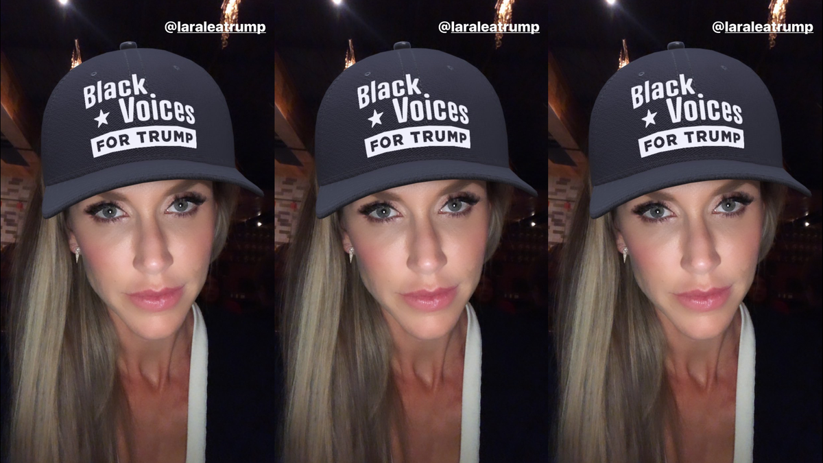 Lara Trump Is An Honorary Black Now