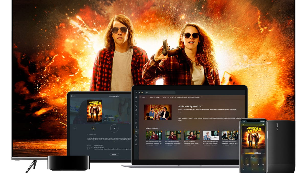 Plex Now Offering Over a Thousand Movies on Demand and for Free