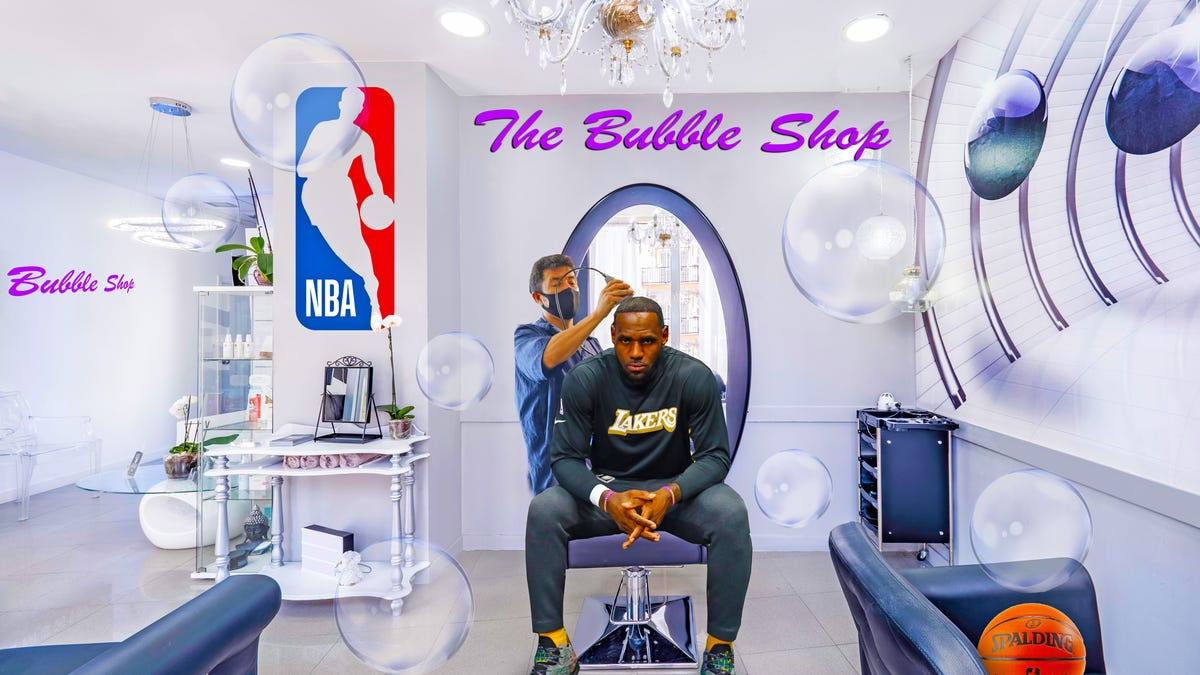 The NBA Bubble Wrap - Including the NBA Barbershop - Rolls On