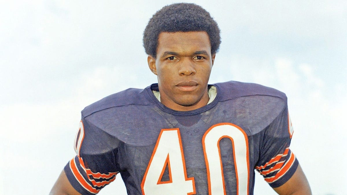 Gale Sayers, the brightest of lights