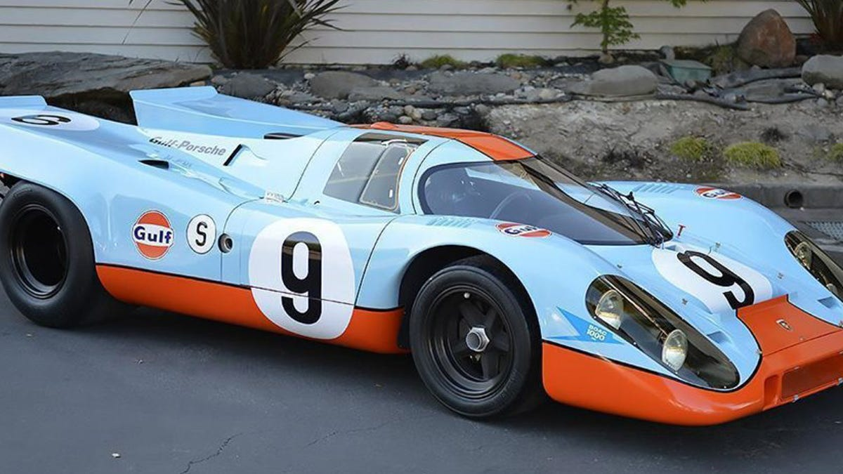 Porsche 917 For Sale >> I Might Rob Banks To Buy This 20 Million 1969 Gulf Porsche