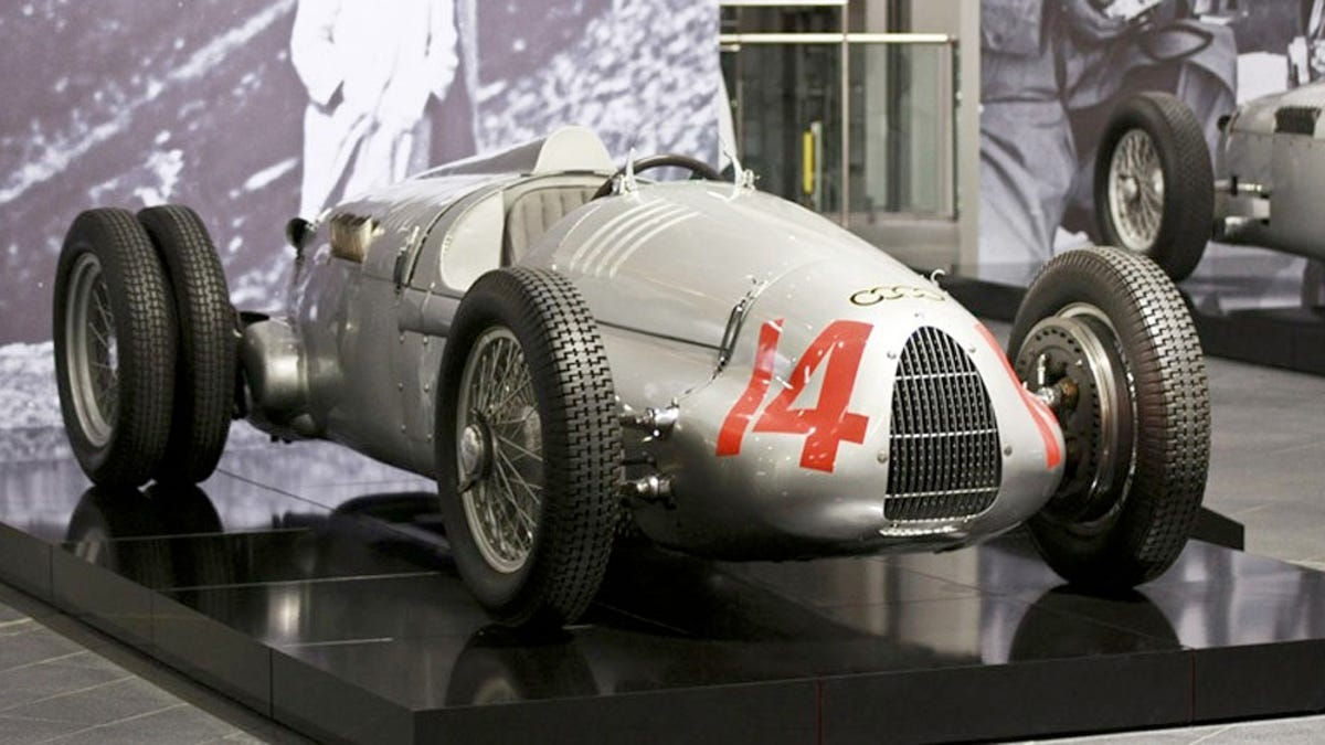 Image result for image 1930's auto union v-16 race cars