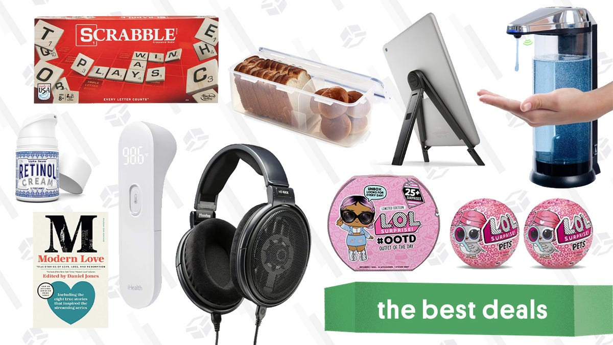 Friday's Best Deals: Scrabble, Modern Love, Legendary Headphones, and More