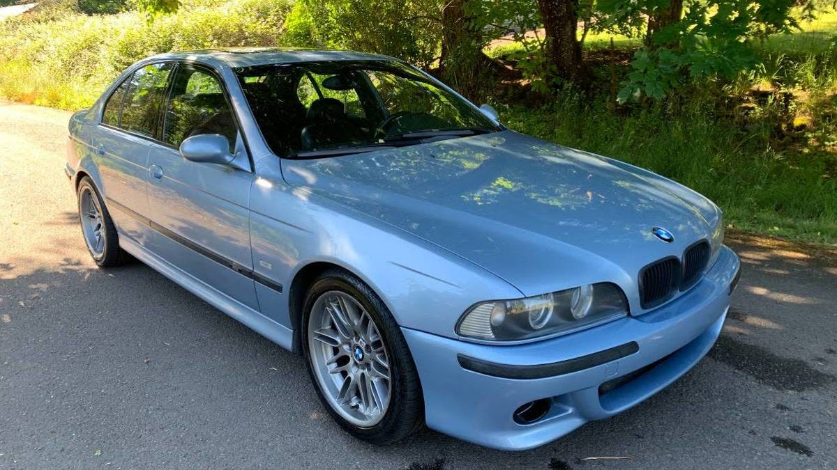At 9 500 Could This Silverstone 2000 Bmw M5 Be A Gold Standard