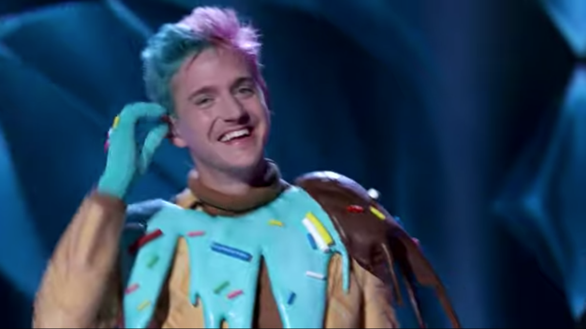 Ninja Sings Old Town Road In A Giant Ice Cream Costume For The Masked Singer Premiere