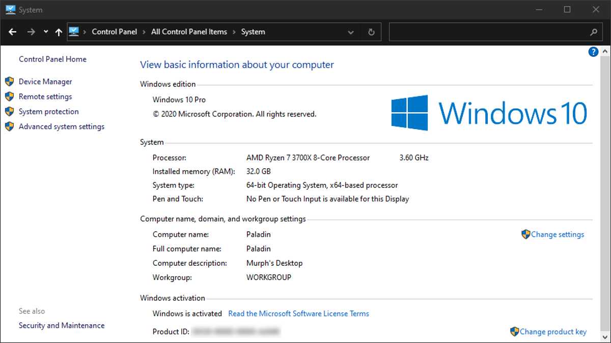 How to Find the Missing 'System' Control Panel in Windows 10