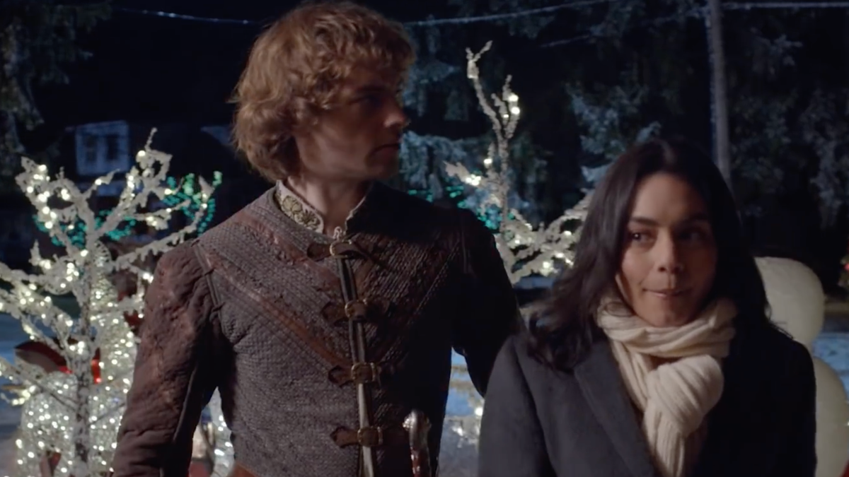 The Knight Before Christmas Makes No Sense and, Frankly, I Love That
