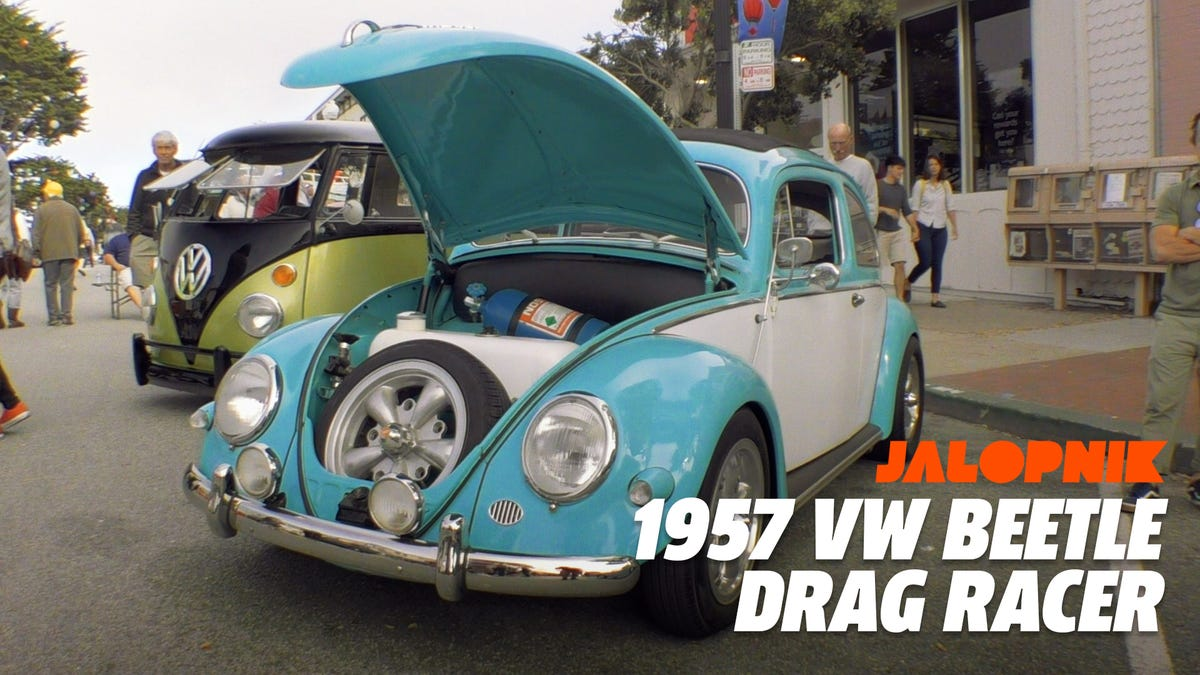 Here's an Old Volkswagen Beetle with a Power-to-Weight Ratio