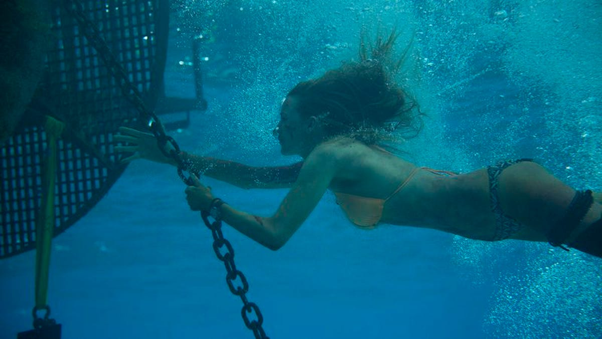 The gimmicky survival thriller The Shallows is out of its depth