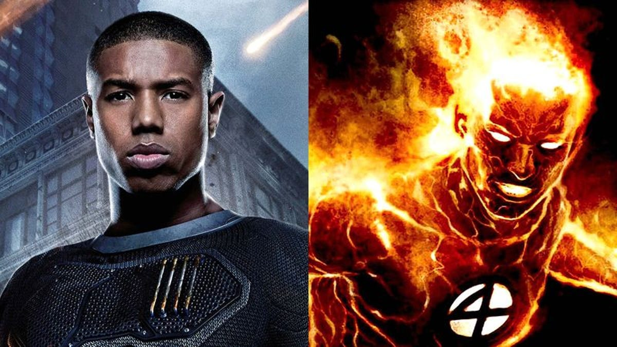 Just C.hill: How Can The Human Torch Be Captain America?