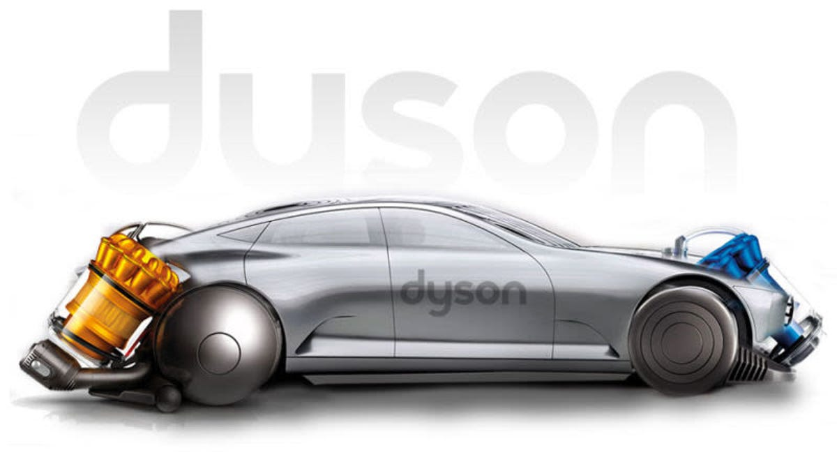 Build A Car From Scratch >> Dyson S Plan To Build Three Electric Cars From Scratch Is