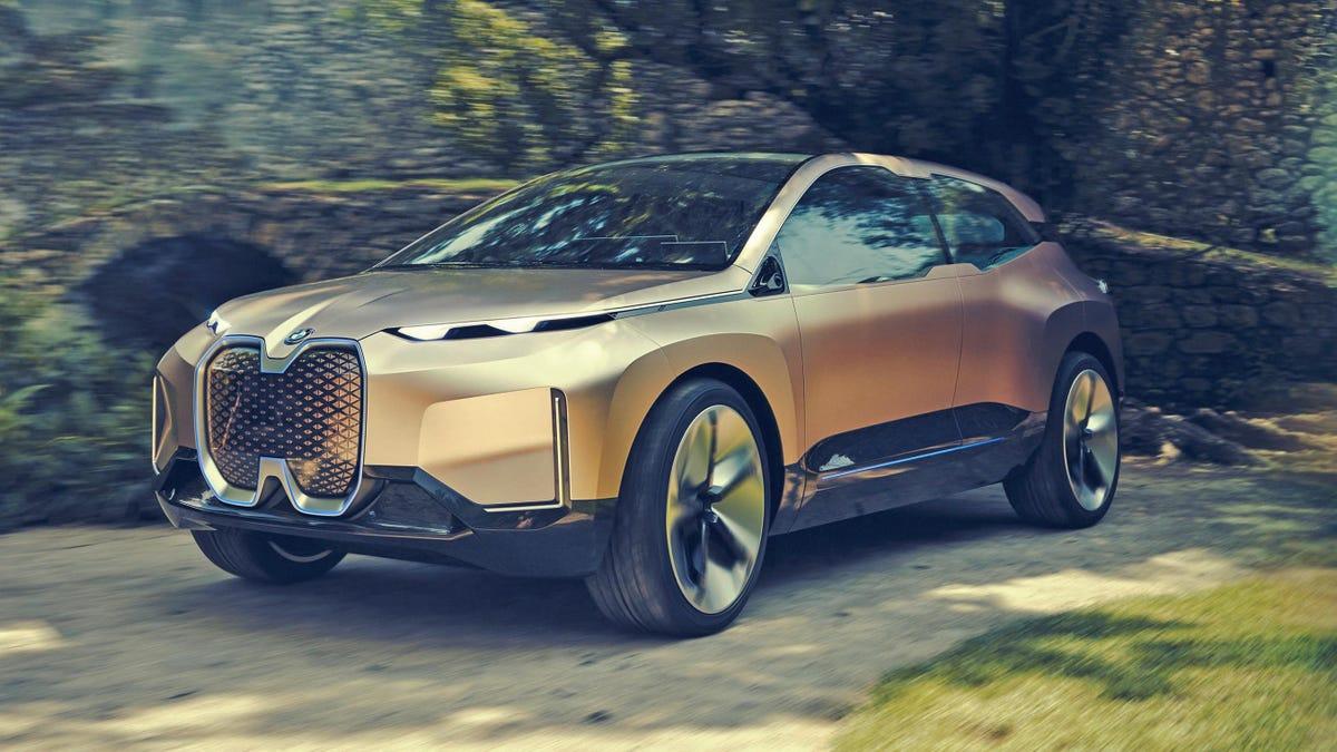 The BMW Vision iNext Concept Is BMW's Funky Autonomous ...