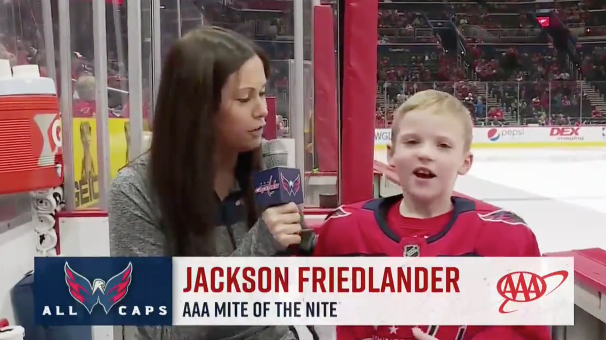 Apologies To This Hockey Child, But I Am His Mother Now