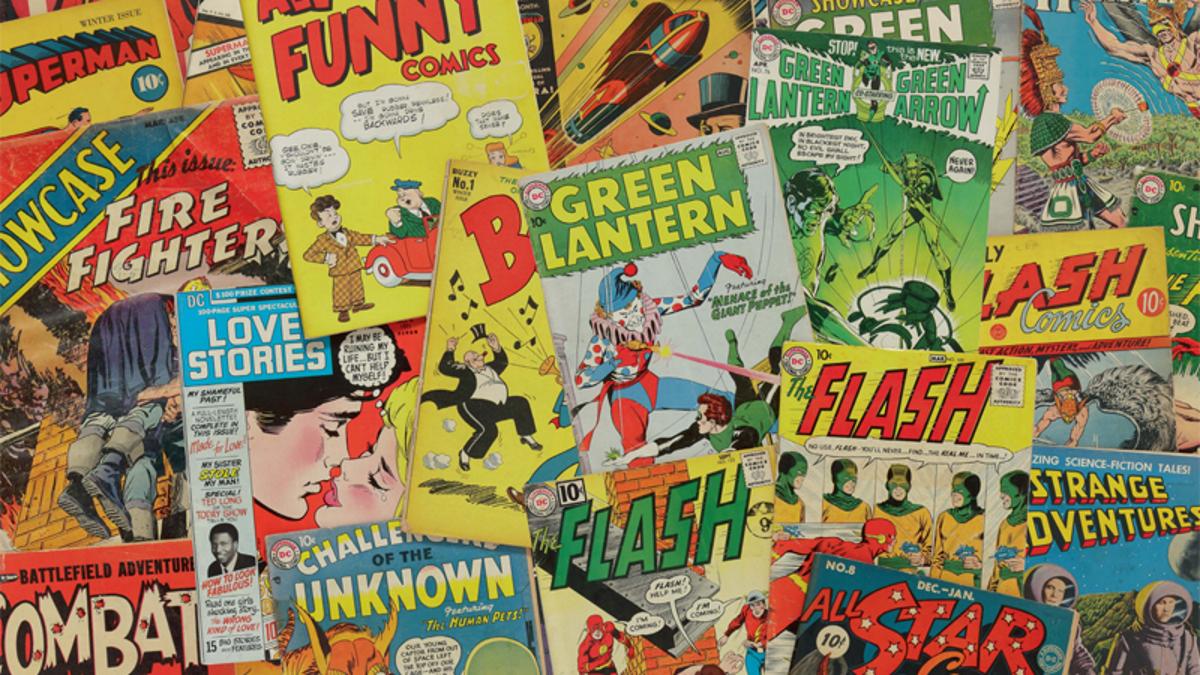 Sale a subasta una colección de DC Comics sin precedentes con más de 40.000 ejemplares