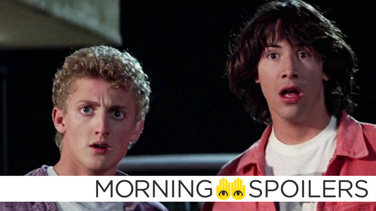 New Set Pictures Reveal the Radical Return of Bill & Ted