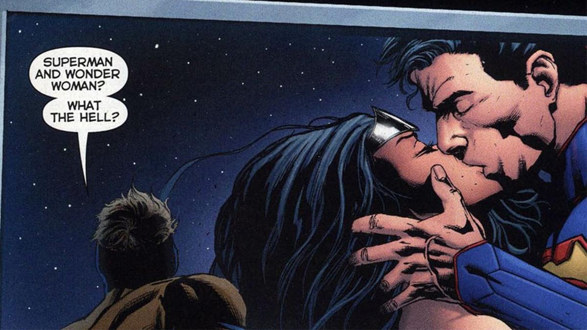 Relationship wonder woman superman Are Superman