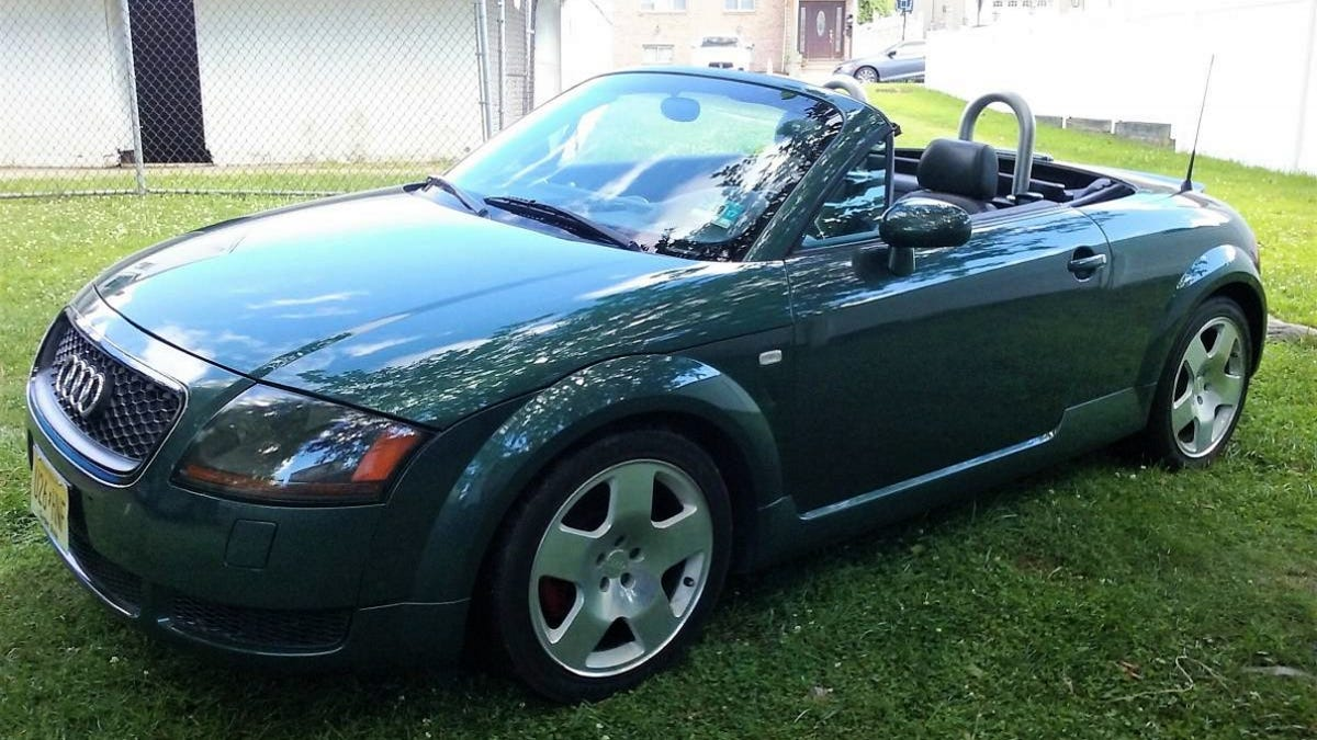At $4,000, Does This 2001 Audi TT Drophead Make You Green With Envy?