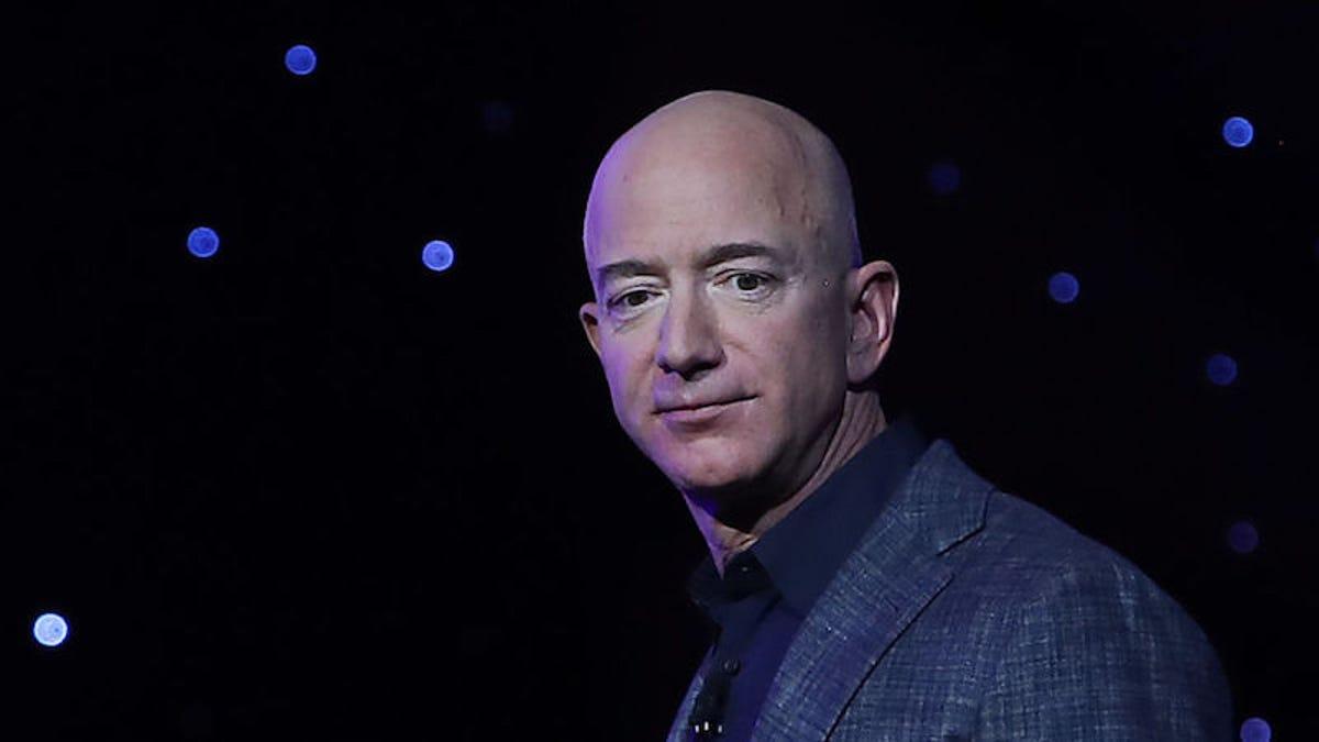 "Amazon CEO Jeff Bezos: ""We Can Save Earth."""