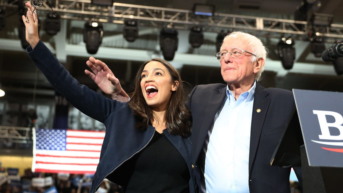AOC and Bernie Sanders Push Joe Biden to Declare a Climate Emergency