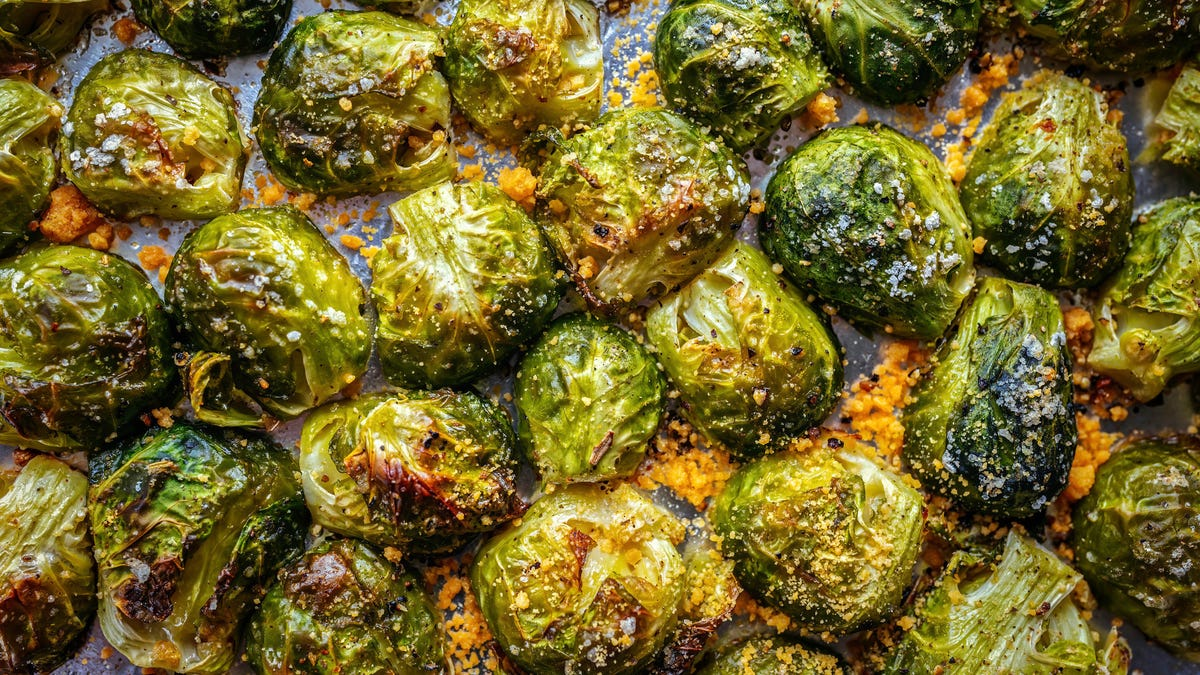 How to make crispier roasted Brussels sprouts in half the time