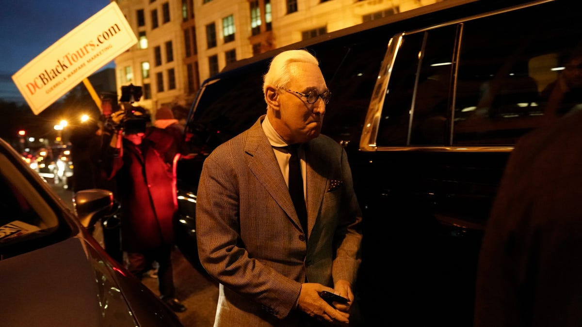 Roger Stone Found Guilty of Lying to Congress, Witness Tampering; Not Guilty of Top Hat-Related Crimes