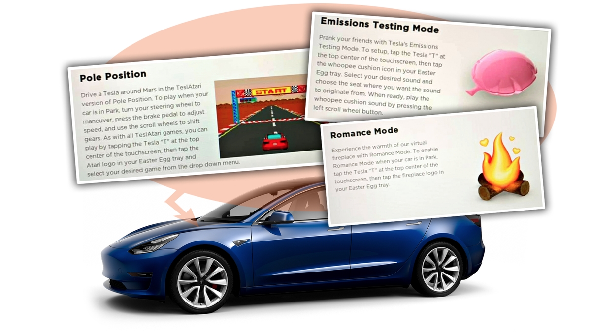 Tesla Introduces 'Romance Mode' and On-Demand Fart Noises